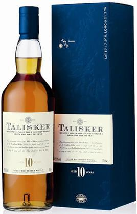 Talisker Scotch Single Malt 10 Year